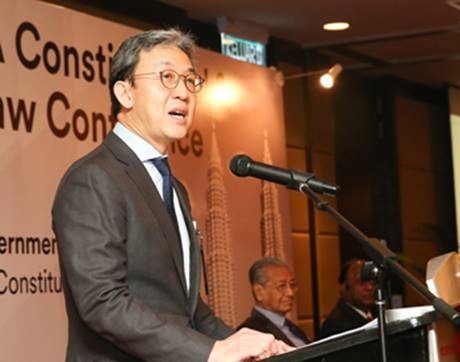 Welcome Address by Christopher Leong, President of LAWASIA   LAWASIA Constitutional & Rule of Law Conference 2019 (4 Oct 2019)