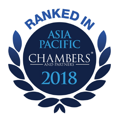 Chambers Asia - Pacific - 2018